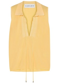 Carven Woman Knitted Top Pastel Yellow