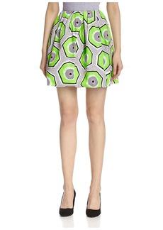 Carven Women's Cotton Skirt