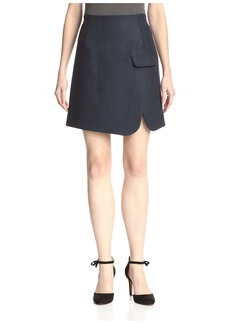 Carven Women's Split Hem Skirt  40FR/US