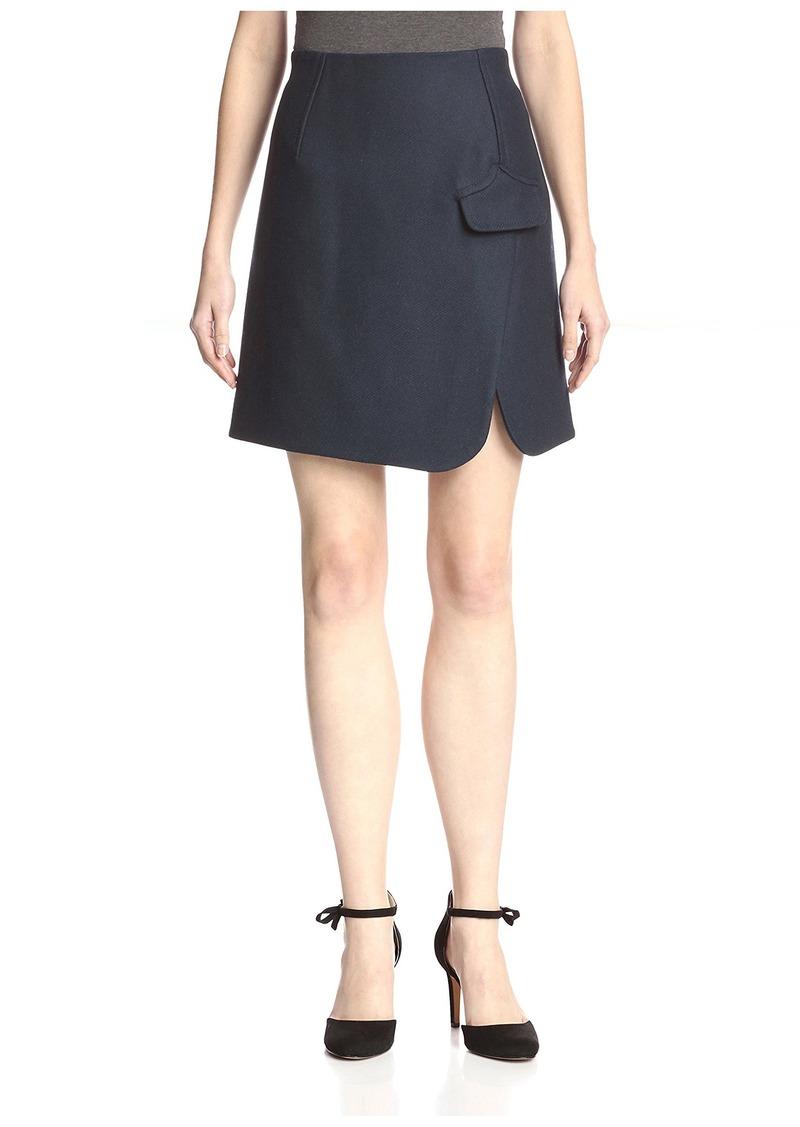 Carven Women's Split Hem Skirt  40FR/US