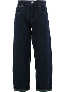Carven cropped wide leg jeans