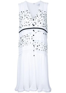 Carven dots print buttoned dress