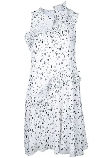Carven dots print sleeveless dress
