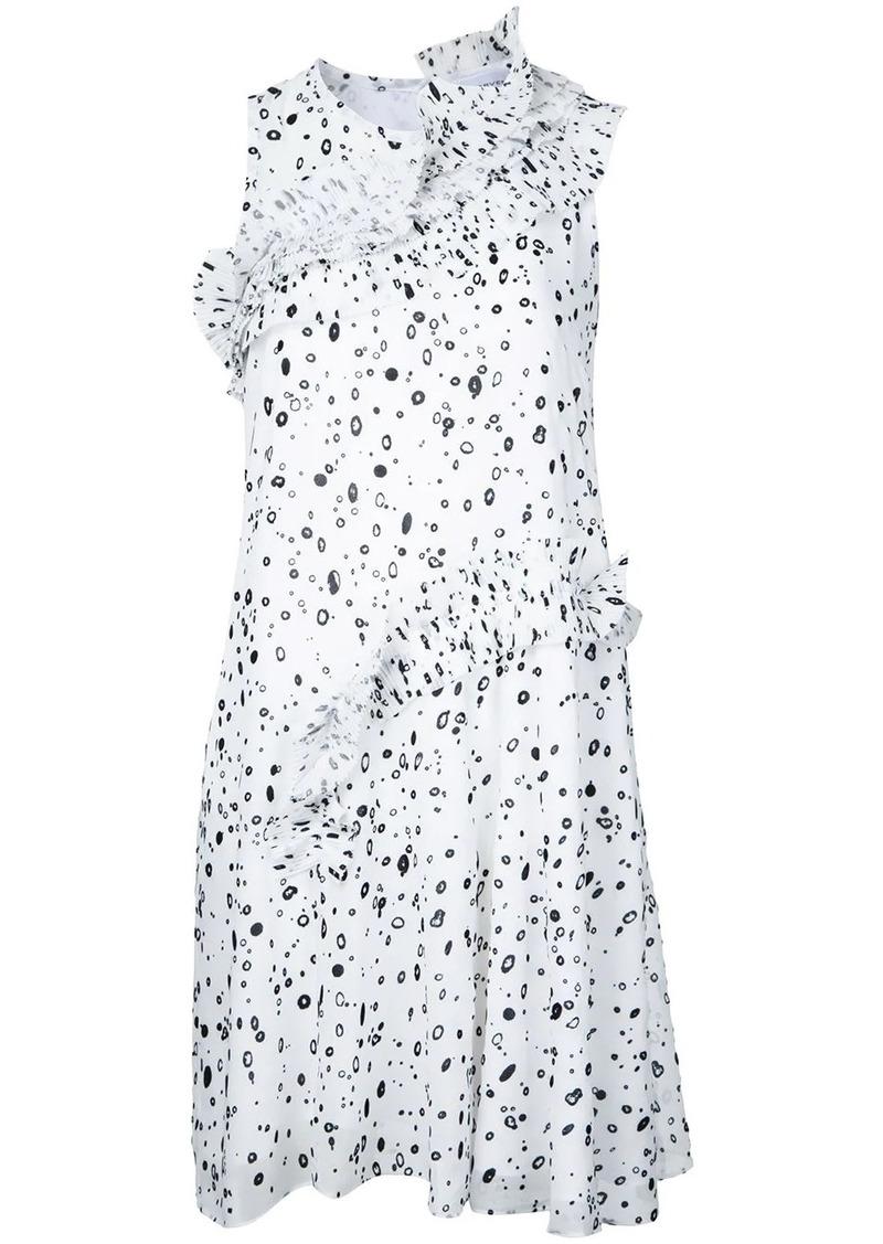 Carven dots print dress