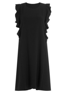 Carven Dress with Ruffles