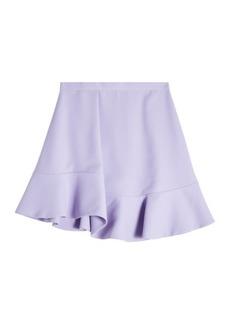 Carven Flutter Hem Mini Skirt