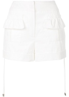 Carven gathered short shorts