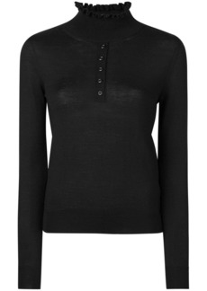 Carven knit buttoned top