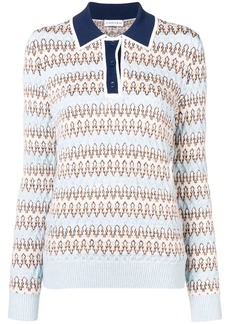 Carven knitted polo shirt