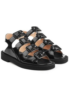 Carven Leather Sandals