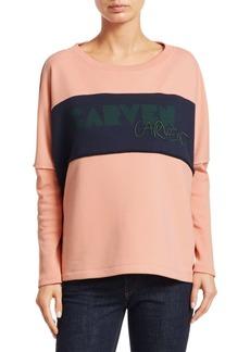 Carven Logo Crewneck Sweater