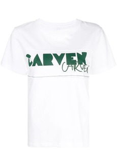 Carven logo crew neck T-shirt