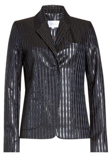 Carven Metallic Blazer