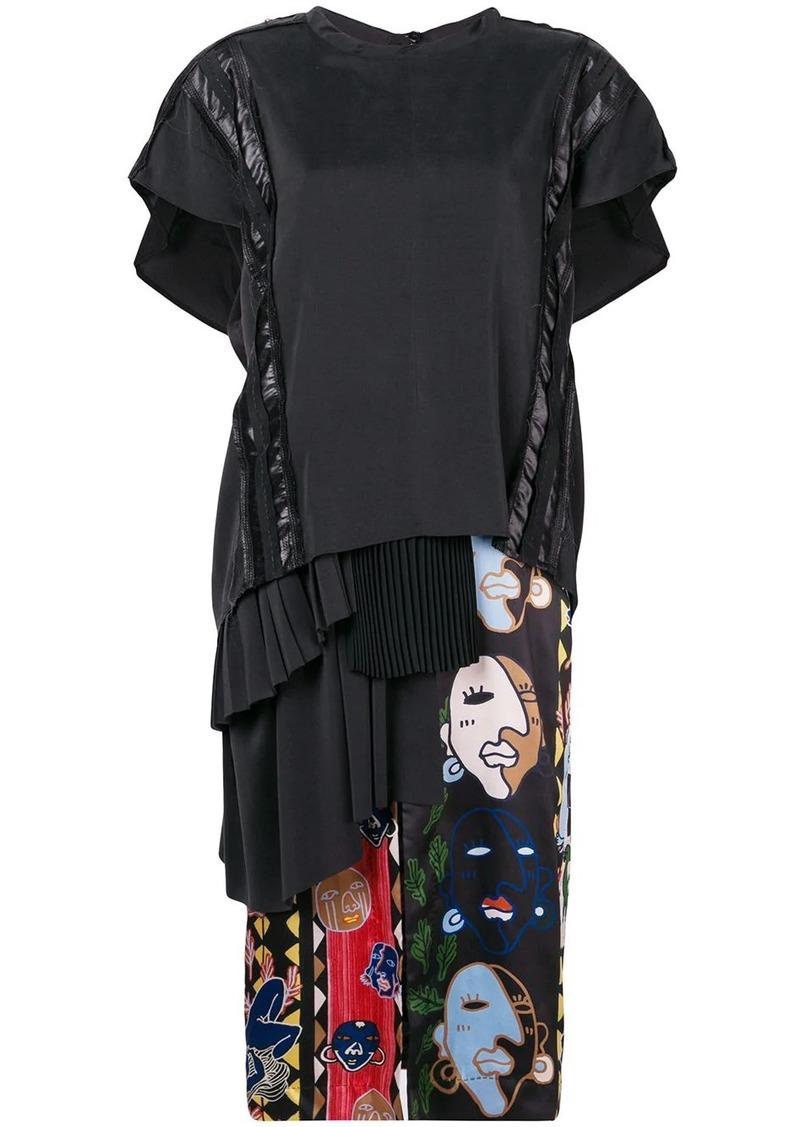 Carven mid-length T-shirt dress