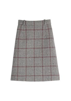 Carven Midi Skirt with Wool