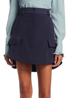 Carven Patch Pocket Mini Skirt