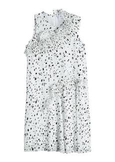 Carven Printed Crepe Shift Dress