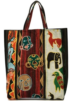 Carven printed tote bag