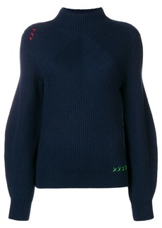 Carven puff sleeved sweater