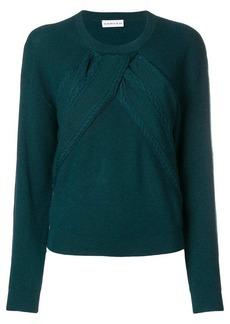 Carven round neck sweater