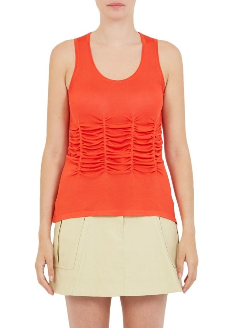 Carven Ruched Tank Top