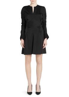 Carven Ruched Mini Dress
