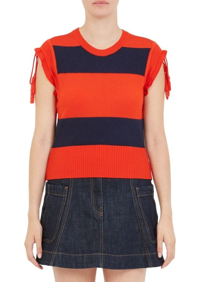 Carven Rugby Stripe Tee