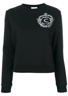 Carven sequin appliqué sweatshirt