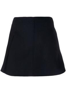 Carven straight A-line skirt