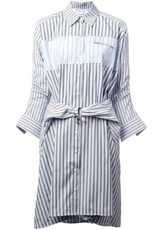 Carven striped printed loose dress