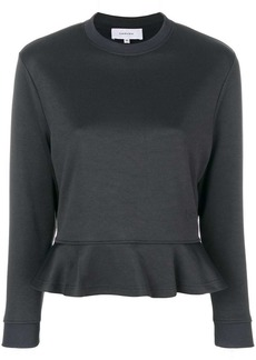 Carven sweatshirt with ruffle hem