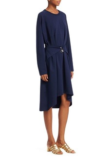 Carven Tie Waist Dress