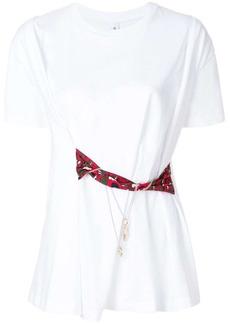 Carven waist-tied T-shirt