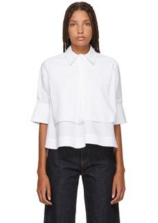 Carven White Layered Shirt