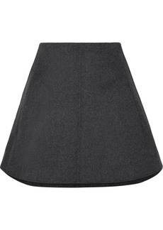 Carven Wool And Cashmere-blend Mini Skirt