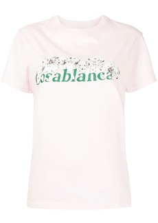Casablanca Dalmatian logo-print T-shirt