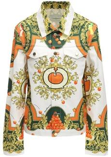 Casablanca Printed Les Oranges Cotton Denim Jacket