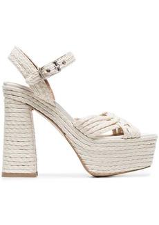 Castañer 135 woven platform sandals