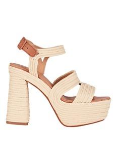 Castañer Adah 130 Raffia Platform Sandals