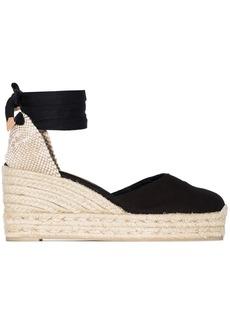Castañer Carina ankle-tie wedge sandals