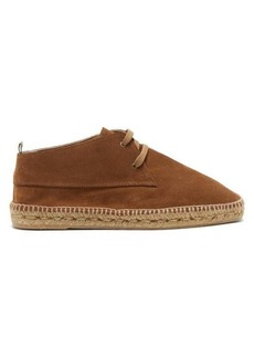 Castañer Bruno suede & jute desert boots