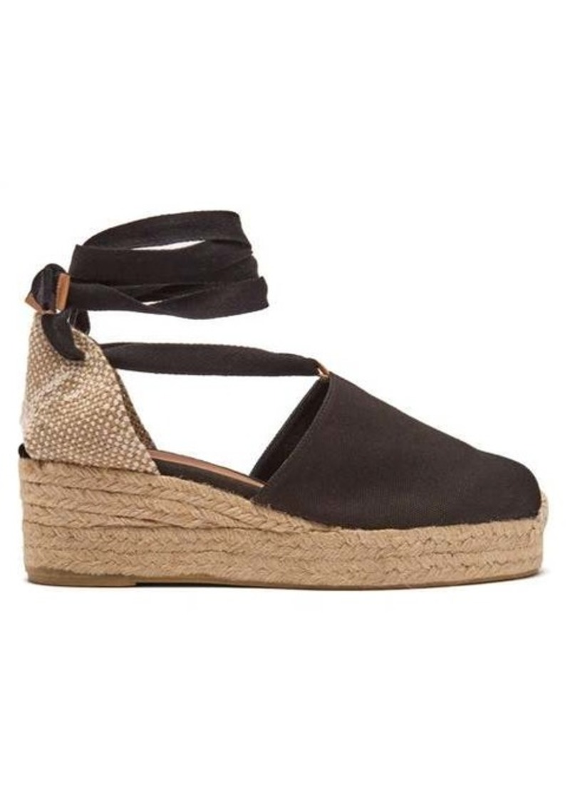 3bba269f6fb Campesina 30 canvas & jute espadrille wedges