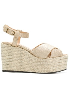 Castañer crisscross wedge sandals
