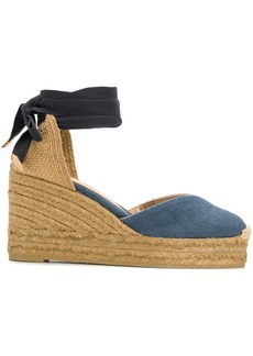 Castañer denim wedge espadrilles