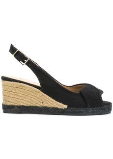 Castañer espadrille wedge sandals - Black