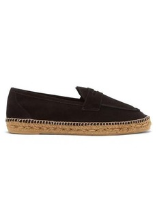 Castañer Nacho suede espadrille loafers