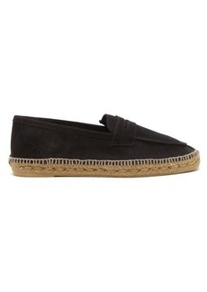 Castañer Suede penny loafers