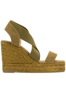Castañer wedge sandals - Green