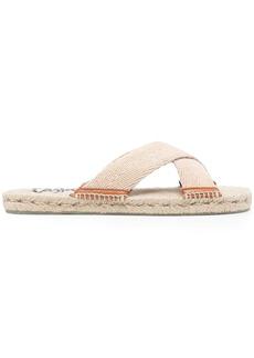 Castañer Kristian crossover espadrille sandals