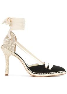 Castañer mid-heel espadrille pumps
